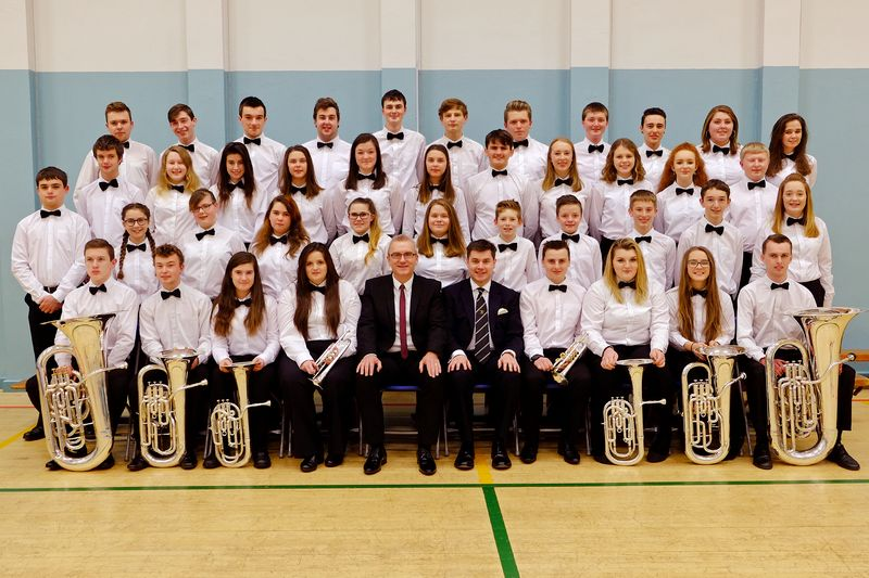 The Cornwall Youth Brass Band - Christmas 2016